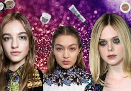 How to Wear Glitter Makeup in Autumn and Winter